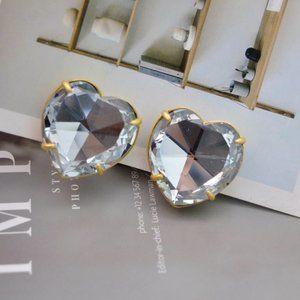 Tory Burch Delicate Crystal Earrings